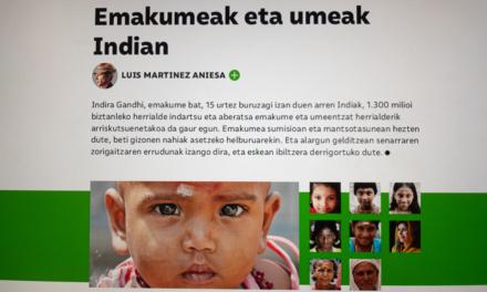 Revista TTAP nº 77: Emakumeak eta umeak indian