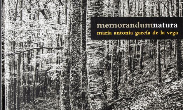 MemorandumNatura, de María Antonia García de la Vega
