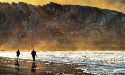 Playa de Itzurun, Zumaia. 100 millones de años nos contemplan