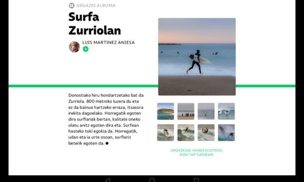 Revista TTAP nº 117: Surfa Zurriolan