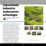 Revista TTAP nº 127: Gipuzkoako industria ondarearen arkeologia